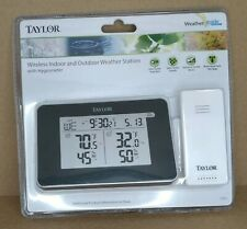 New ListingTaylor Wireless Indoor & Outdoor Weather Station w/ Hygrometer (1731) New