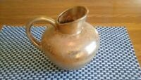 A STANGL POTTERY PITCHER 4060- 22 kt gold.