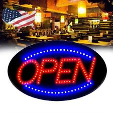 Commercial 2 Modes Open Sign Neon Led Light Bulb Animated Lighting Business Shop