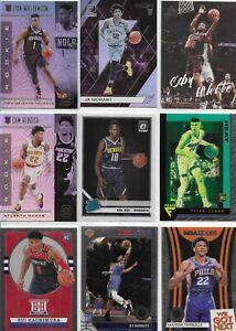 ROOKIE NBA RC LOT Ft. Zion Williamson, Ja, RJ, Coby, Cam, Bol, Rui, Herro, & MT
