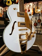 Gretsch Limited Edition G5655TG Electromatic Single Cut in Snow Crest White