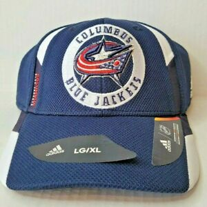 Adidas Columbus Blue Jackets NHL Hat Cap Large/XL Headwear Collection New