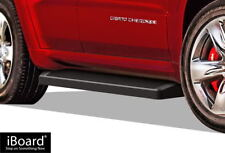 "Matte Black 6"" iBoard Running Boards Fit 11-16 Jeep Grand Cherokee"