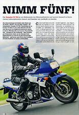 Yamaha FZ 750 - Erfahrungen