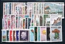 MONACO - Timbres Année 1974 N° 953 à 1002 Neufs**