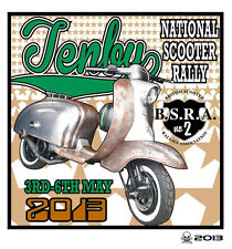 2013 TENBY SCOOTER RALLY RUN  PATCH MODS SKINHEADS not PADDY SMITH