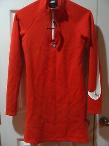 Women Nike Sportswear Valentines Day Long Sleeve Heart Dress CW4784 657 Sz S, M