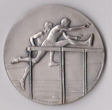 ancienne médaille de sport en métal uniface - Contaux / Charma ed valence -