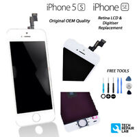 NEW Original Retina LCD & Digitiser Touch Screen Assembly FOR iPhone 5S/SE WHITE