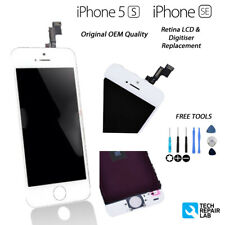 NUOVA LCD Retina Originale & convertitore analogico-digitale Touch Screen Montaggio Per iPhone 5S/SE Bianco
