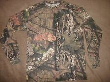 NWOT MOSSY OAK MENS SIZE SMALL CAMO LONG SLEEVE SHIRT Trees, Bark, Leaves
