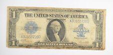 "HUGE Horse Blanket 1923 $1 Silver Certificate Large Size Note Over 7"" Long *515"