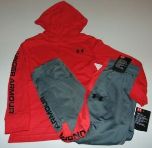 ~NWT Boys UNDER ARMOUR Hoodie Outfit! Size 5 Nice:)!!