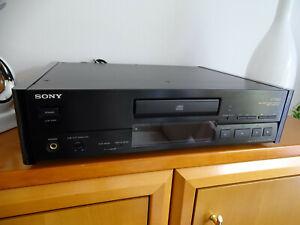 SONY ES CD Player  CDP-X779ES Schwarz TOPZUSTAND mit FB + Acylseiten/hochglanz