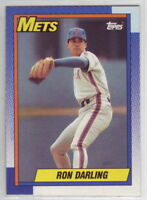 1990 Topps Baseball New York Mets Team Set with Traded (37 cards)