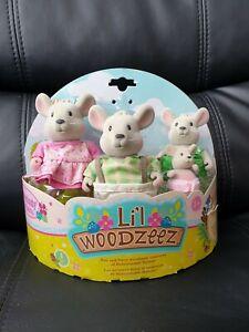 Li'l Woodzeez Handydandy Mice 6003Z