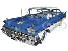 "1958 FORD FAIRLANE 500 ""THE CAR THAT WENT AROUND THE WORLD"" 1/18 BY SUNSTAR 5283"