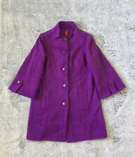 NEW WOMENS SIZE MEDIUM DESIGNER 5/48 BUTTON-UP WOOL PEACOAT RETAIL:$150