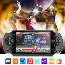 """X6 Rechargeable 4.3"""" écran 8G PSP Console de jeu Portable Vidéo Caméra Mp3 MP5"""