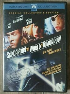 Sky Captain and the World of Tomorrow (2006) Jude Law, A.Jolie, G.Paltrow [DVD]