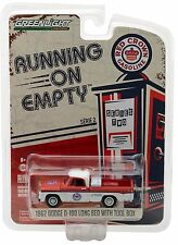 1:64 GreenLight *RUNNING ON EMPTY R2* RED CROWN = 1962 Dodge D-100 Pickup NIP