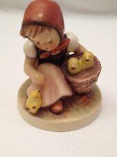 Goebel Hummel Figurine Girl With Chicks 57/0 Tmk3 Excellent