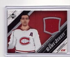 BERNIE GEOFFRION 2005-06 UPPERDECK UD GAME-USED JERSEY SSP #J-BGE CANADIENS SP