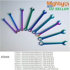 Miniature Mini Metric Combination Wrench Spanner:4/4.5/5/5.5/6/7/8/9/10/11mm