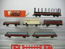 AM30-1 #6X MÄRKLIN H0 Freight Car: 313/2 Stake Wagon +4602 +Refrigerator etc. ,