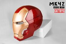 Cat Toys Iron Man MK42 Cosplay Mask Helmet LED Lighting 1:1 Wearable Manual Open