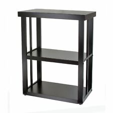 Aquarium Stand 20 Gallon 10 Fish Tank Wooden Holder Black Turtle Hamster Display