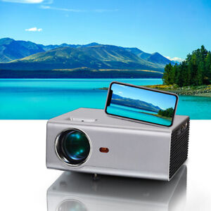 Mini Projector 4K Home Theater Portable Projector 720P Native Projecor LED HDMI