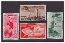 EGEO  1934   -   MONDIALI DI CALCIO   POSTA AEREA  SERIE   NUOVA *