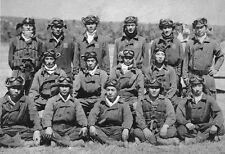 WWII Photo Japanese Pilots Rabaul New Guinea 1942 WW2 B&W World War Two / 2243