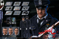 1/6 Scale Burning Soul Police Uniform Joker Cortical box Action Figure(3*Heads)