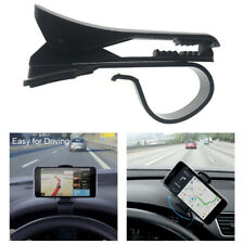 Black GPS Mount Car Phone Holder Auto Stand Bracket  Dashboard Clip Mount