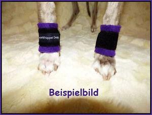 Wolfskrallen Bandagen Gamaschen Krallenschutz Whippet Windhund *Video Beispiel*