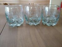 5 O'MARA'S Irish Country Cream Rounded feet Glasses
