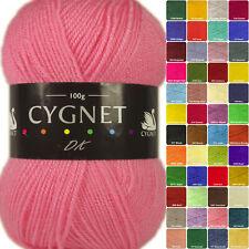 Cygnet DK Double Knit 100g Acrylic Knitting Yarn - Over 50 Shades