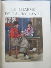 Le Charme de la Hollande de H Cassiers 1932 ex sur japon plein maroquin