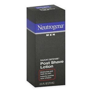 (1) Neutrogena Men Razor Defense Post Shave Lotion - 2.5 oz New