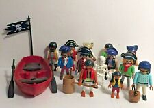 Playmobil mixed job of pirates skeleton boat BUNDLE (H3)