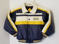 91d74c413 Vintage Indiana Pacers Mighty Mac NBA Kids PVC Jacket Size 7