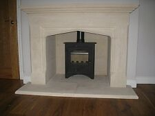 Rochester  Bath Stone Fireplace Fire Surround. Includes EXTERNAL HEARTH