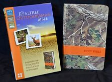 Niv Realtree® Outdoorsman Bible, Realtree Xtra® Green Camo Camouflage