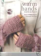 Warm Hands Warm the Heart (2010, Paperback) ~ Knitting Book of Mittens
