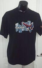 Superman Man of Steel Licensed Logo Promo T Shirt Xl Super Hero DC Comics