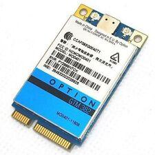 UNLOCKED Option GTM382 mini PCIE 7.2Mbps WWAN HSDPA GTM 382 Card