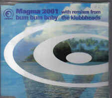 Magma 2001-Bum Bum Baby cd maxi single Italo Dance 6 tracks