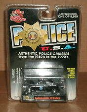 1/62 Scale 1955 Chevy Bel Air Police Car Diecast Model - Racing Champions 94700